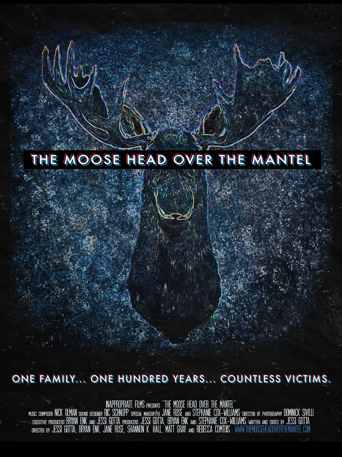 The Moose Head Over The Mantle Movie Poster