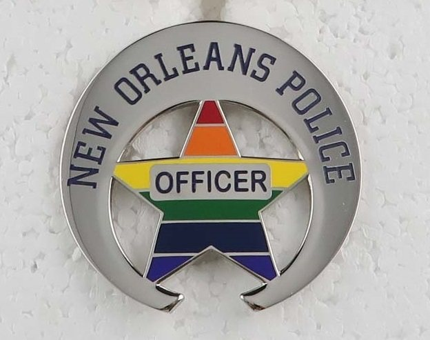 NOPD Celebrates Pride Month with Special Badge